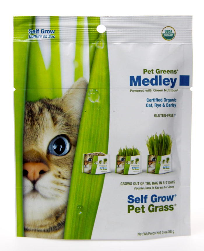 Pet Greens Organic Grass Medley