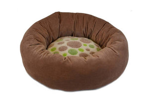 Precision Pet Green Spot Donut Bumper Bed
