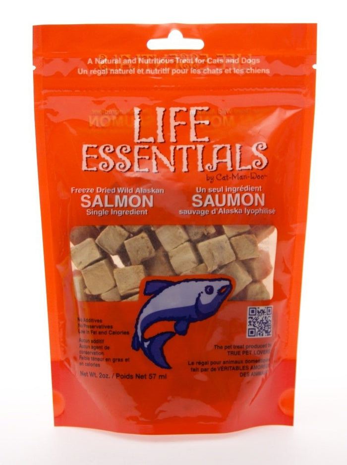 Cat-Man-Doo Life Essentials Freeze Dried Salmon Treats