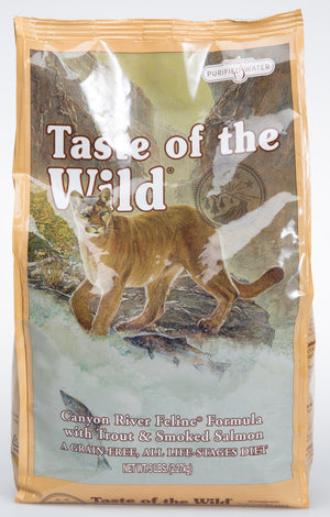 Taste of The Wild Canyon River Trout & Salmon Dry Cat Food