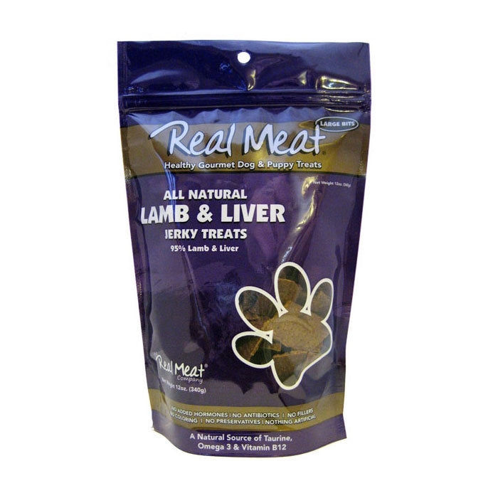 Real Meat Company Lamb Liver Treats