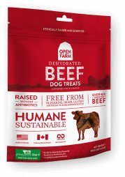 Open Farm Dehydrated Beef Dog Treats
