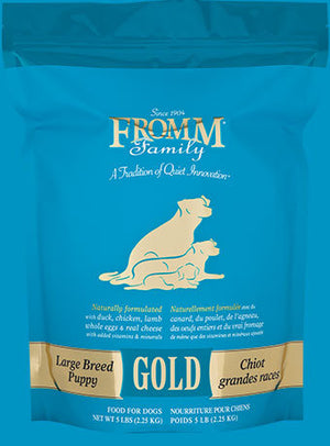Fromm Gold Large Breed Puppy Dog Food 33lb