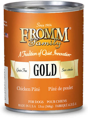 Fromm Gold Chicken Pate Canned Dog Food 12.2oz