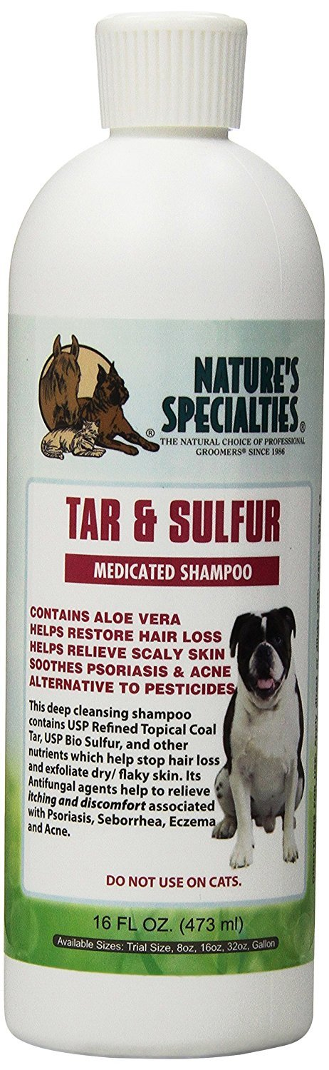 Nature's Specialties Tar and Sulfur Pet Shampoo