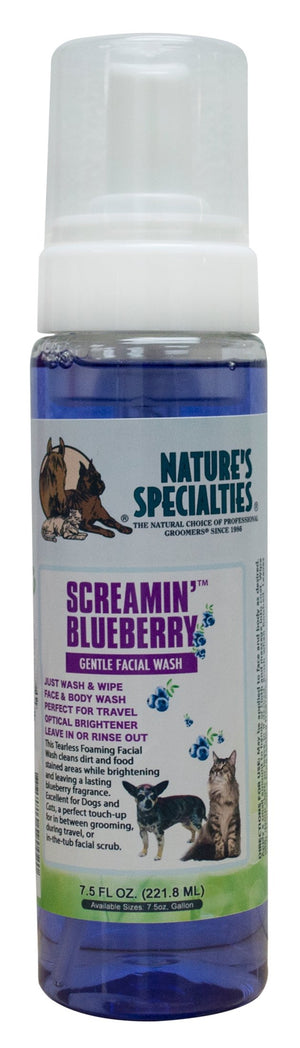 Nature's Specialties Screamin Blueberry Facial Wash