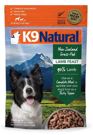 K9 Natural Freeze-Dried Lamb 1.1lb