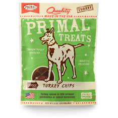Primal Turkey Jerky Chips Dog Treats