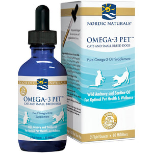 Nordic Naturals Omega-3 Pet Cats & Small Breed Dog