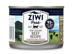 ZiwiPeak Beef Cat Food Can 6.5oz