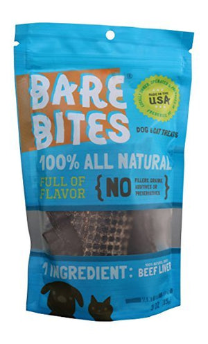 Bare Bites Beef Liver Treats