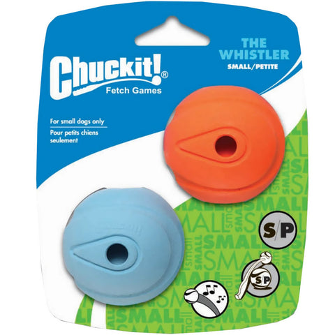 Chuckit Whistler Balls 2 Pack Small