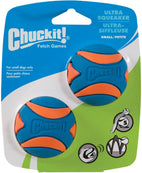 Chuckit Squeaker Ball Small 2 Pack