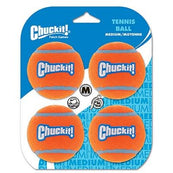 Chuckit Tennis Balls Medium 4 Pack