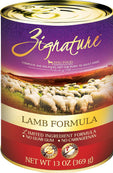 Zignature Grain Free Lamb Dog Food Can 13oz