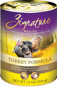 Zignature Grain Free Turkey Dog Food Can 13oz