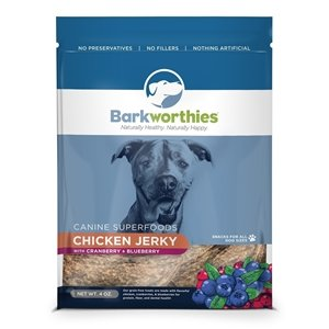 Barkworthies Chicken Cranberry Jerky