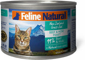 Feline Natural Beef & Hoki Cat Food Can