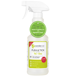 Wondercide Natural Flea & Tick Control for Pets + Home Lemongrass