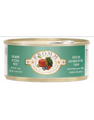 Fromm Salmon & Tuna Pate Canned Cat Food 5.5oz