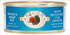 Fromm Seafood & Shrimp Pate Caned Cat Food 5.5oz