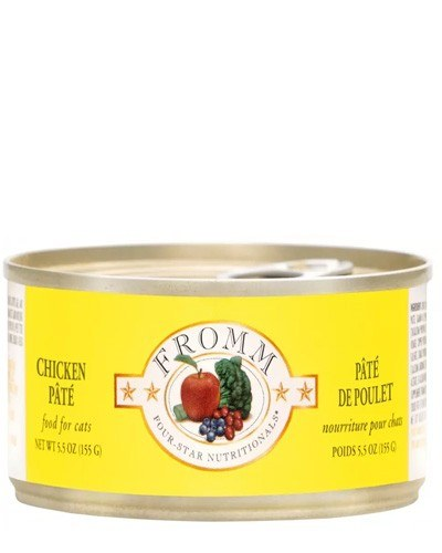 Fromm Chicken Pate Canned Cat Food 5.5oz