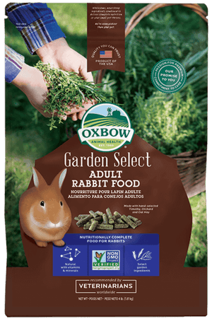 Oxbow Garden Select Rabbit Food 4lb
