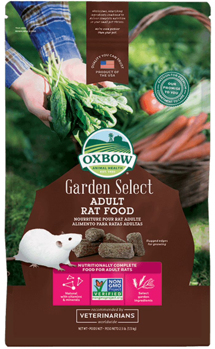 Oxbow Garden Select Adult Rat Food 2.5lb