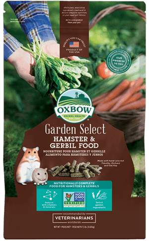 Oxbow Garden Select Hamster & Gerbil Food 1.5lb