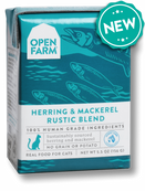Open Farm Herring & Mackerel Rustic Blend 5.5 oz Cat