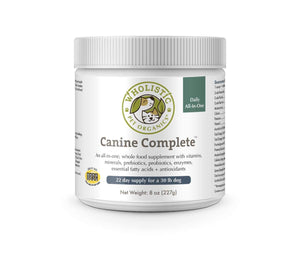 Wholistic Canine Complete Supplement Powder