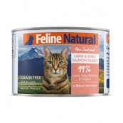 Feline Natural Lamb & Salmon Cat Food Can