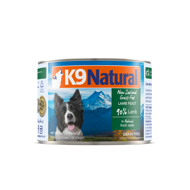 K9 Naturals Lamb Feast Canned Dog Food