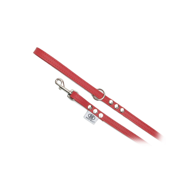 Buddy Belt Red Leash Premium
