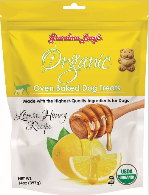 Grandma Lucy's Organic Lemon Honey 14oz