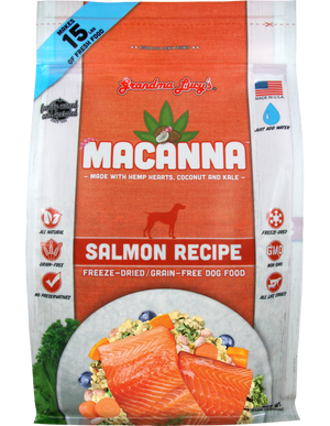Grandma Lucy's Macanna Freeze-Dried Salmon Dog Food
