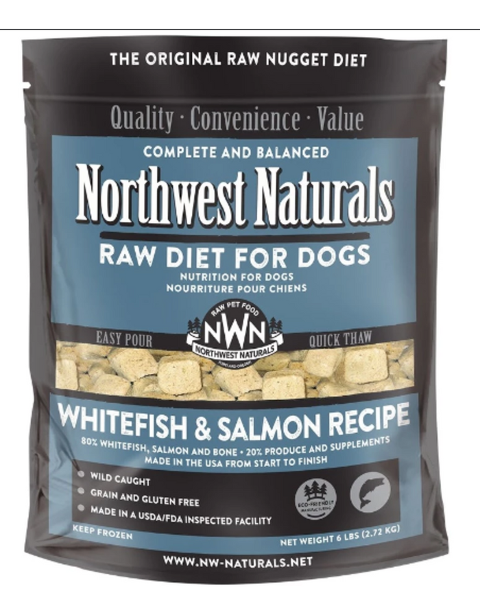 Northwest Naturals Frozen Whitefish and Salmon Recipe -ONLY FOR CURBSIDE OR LOCAL DELIVERY-