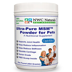NWC Naturals MSM Powder for Pets