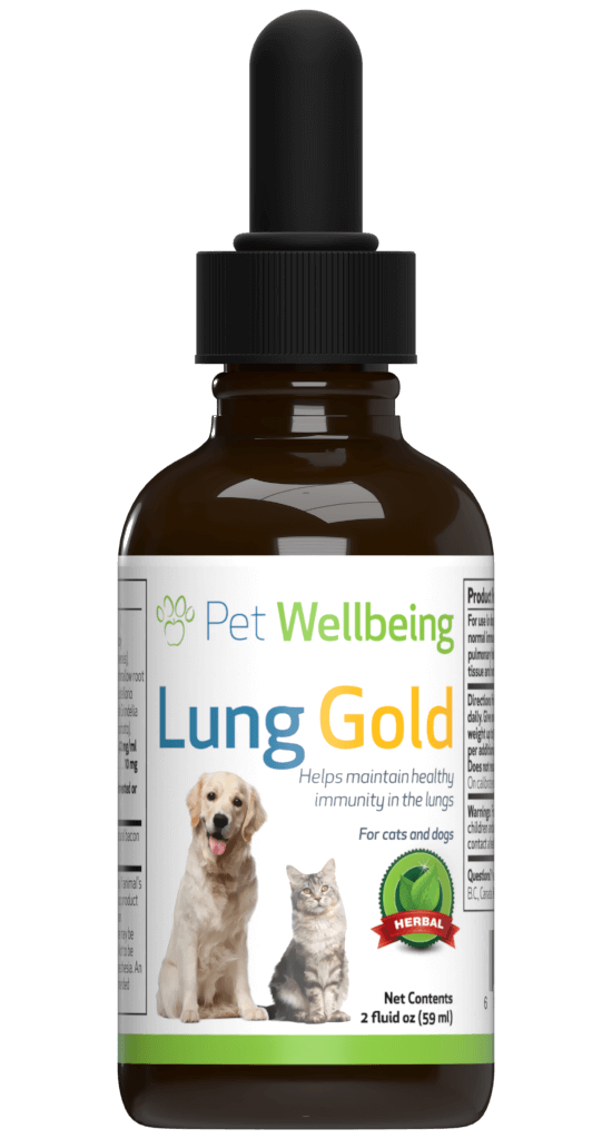 Pet Wellbeing Lung Gold