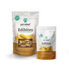 Pet Releaf Edibites Peanut Butter Banana 7.5oz