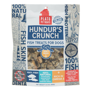 Plato Hundur's Crunch Mini Fish Treats