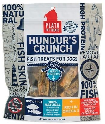 Plato Hundur's Crunch Fingers Fish Treats