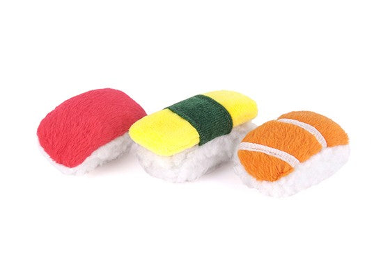 PLAY Sassy Sushi Cat Toy