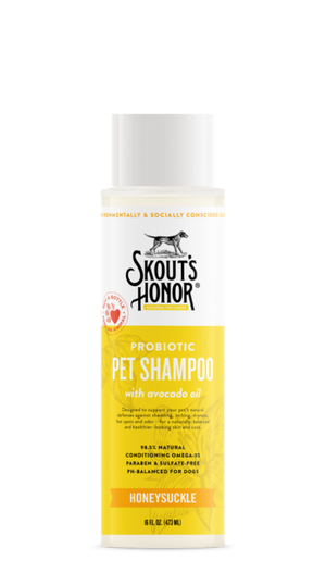 Skout's Honor Probiotic Shampoo Honeysuckle