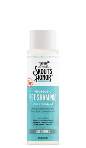 Skout's Honor Probiotic Shampoo Unscented