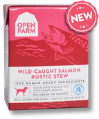 Open Farm Wild-Caught Salmon Rustic Stew 12.5oc