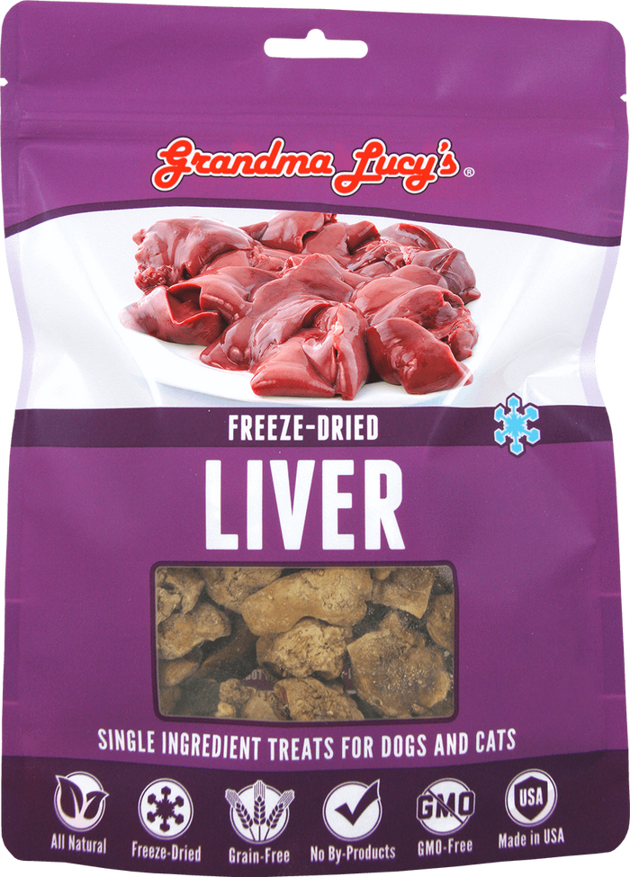 Grandma Lucy's Freeze Dried Chicken Liver Treats
