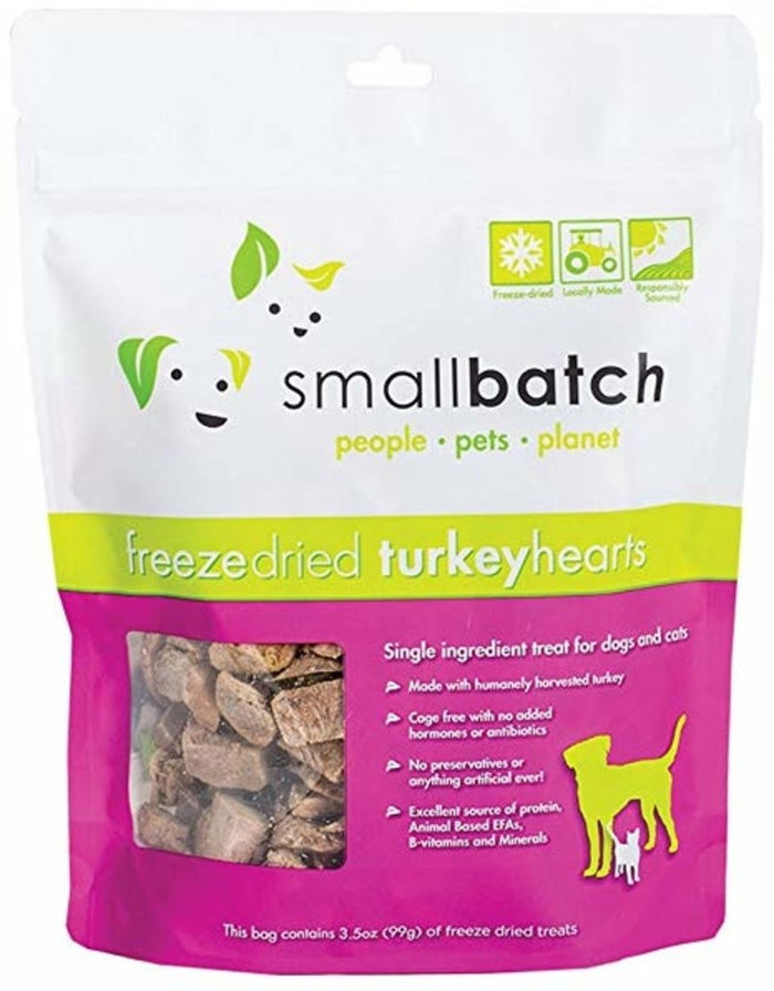 Smallbatch Freeze Dried Turkey Heart 3.5oz