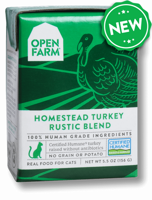 Open Farm Cat Homestead Turkey Rustic Blend 5.5 oz