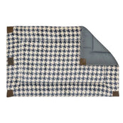 Tall Tails Houndstooth Fleece Dog Crate Bed